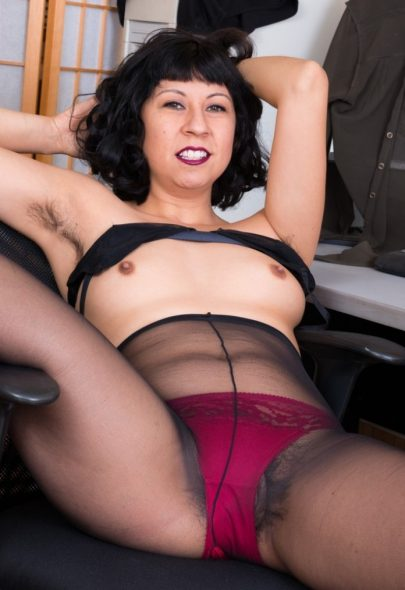 Mature Asian Office Mature